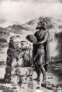 standing stone monument-Joshua 4:9
