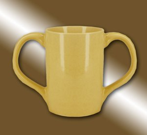 Modern monk style mug