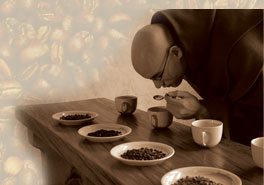 Coffee Taste-tester Monk